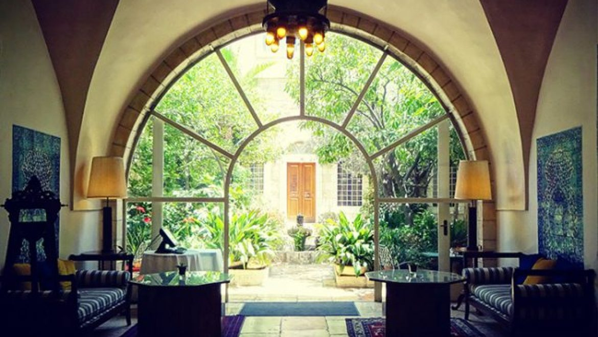 Lobby and Tea I The American Colony Hotel, Jerusalem\'s garden