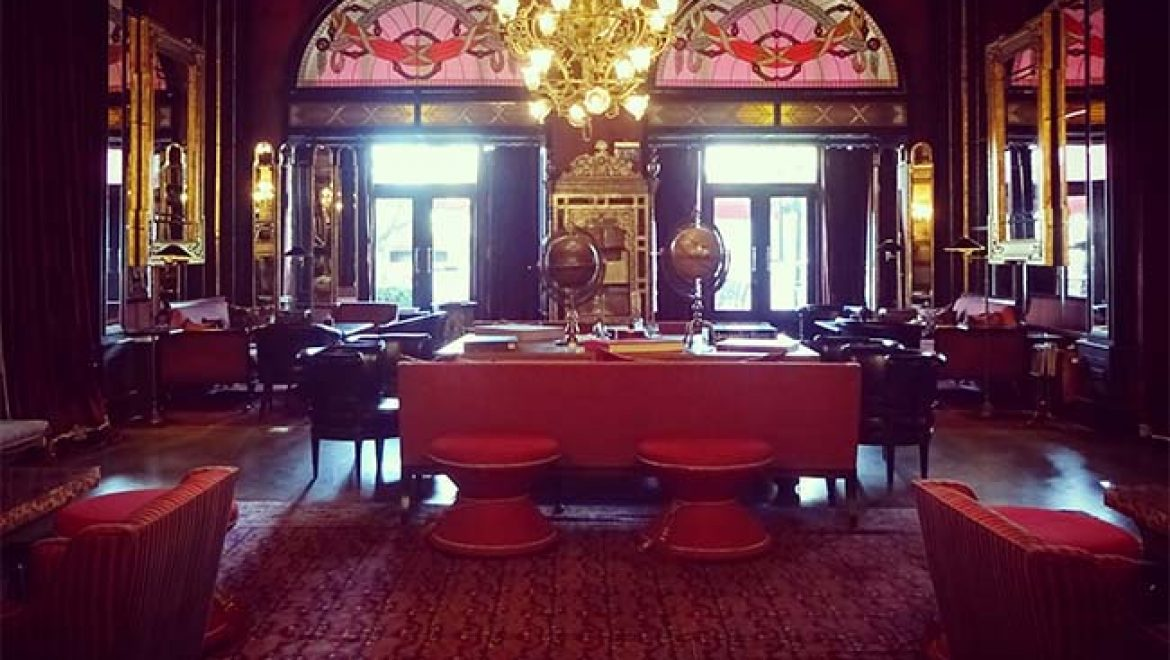 Pera Palace, the hotel which made me fall in love with hotel lobbies…